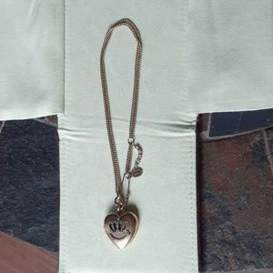 Juicy Couture multi-strand locket necklace